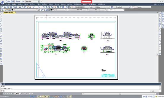 CAD布局教程之布局的作用与使用方法