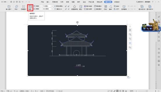 CAD对象操作之CAD图形导入word