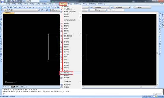 CAD软件中如何绘制倒角