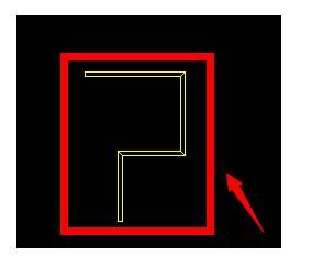 CAD尺寸线变空心如何设置
