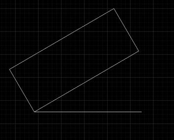 CAD角度输入如何旋转
