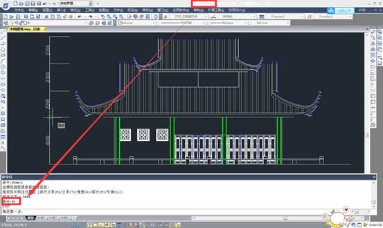 CAD测量教程之线段长度测量