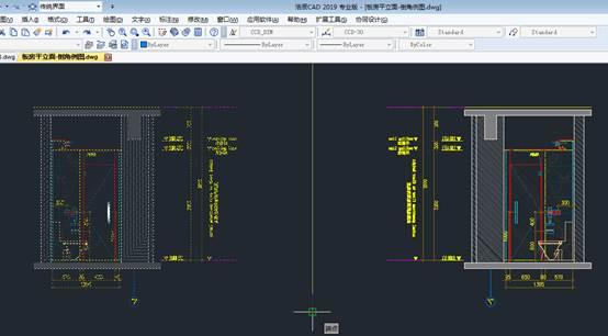 CAD对齐和对称具体操作