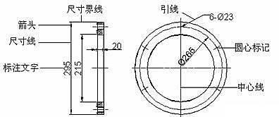 CAD尺寸标注基础应用