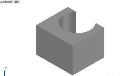 CAD布尔运算裁剪实体的技巧