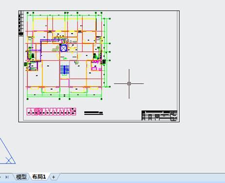 绽放的青春,给排水CAD中如何使用布局旋转