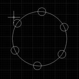 CAD设置环形阵列的方法