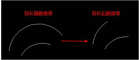 CAD圆弧上取一条自己需要的弧长怎么操作