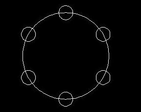 CAD圆周阵列命令使用方法
