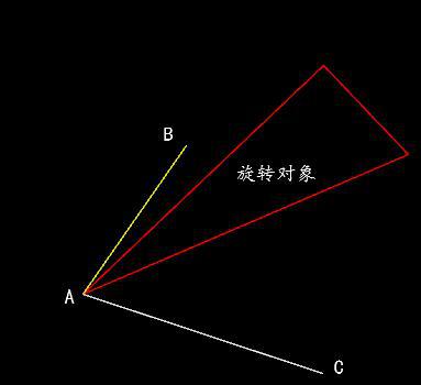 CAD旋转角度方法