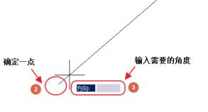 CAD角度输入实例