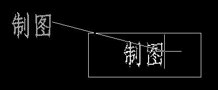 CAD书写文字之标题栏