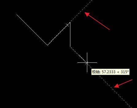 CAD中如何设置极轴追踪角度