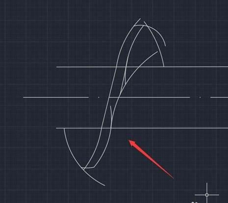 CAD挤出机螺杆平面图的绘制技巧