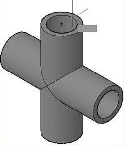CAD视图剖切实体操作技巧
