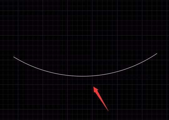 CAD弦长添加垂线的操作步骤