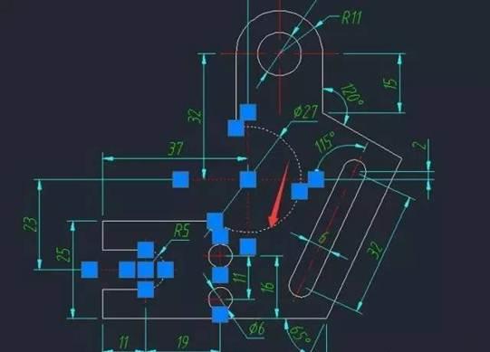CAD选择对象常见问题