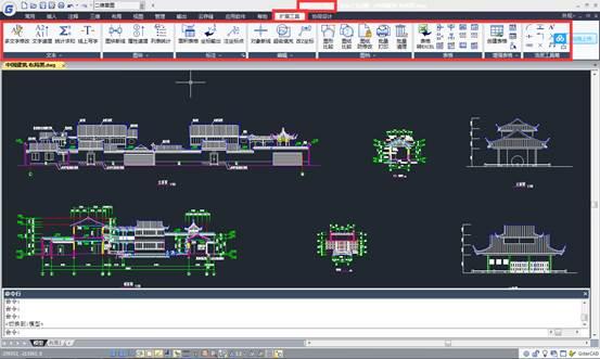 CAD扩展工具教程之CAD的扩展工具的命令及简介