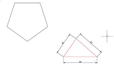 CAD中如何绘制多边形