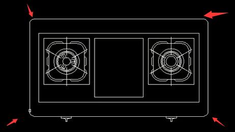 CAD绘制圆角教程