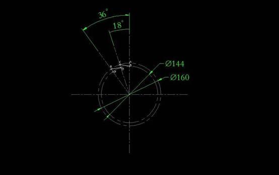 CAD画锯齿盘图纸的教程