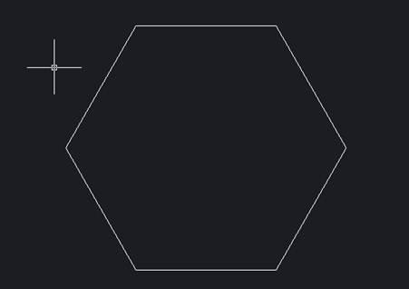 CAD绘制多边形外切圆
