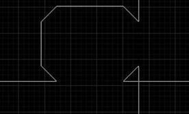 CAD绘制矩形倒角技巧