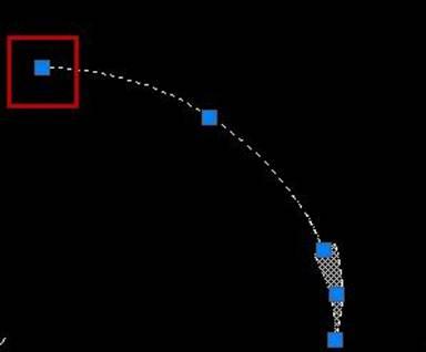 CAD画弯曲箭头修改心得