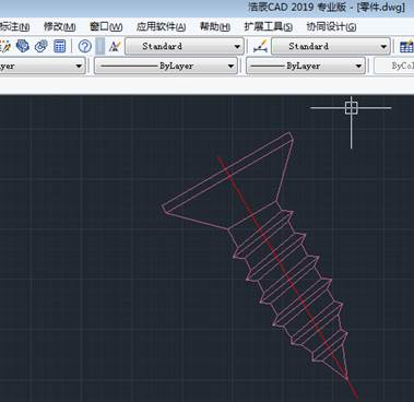 CAD垂直标注尺寸设置
