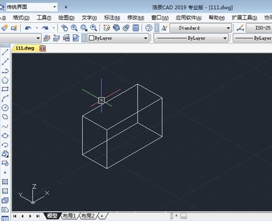 CAD创建三维图形具体操作步骤