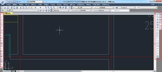 CAD如何处理工具栏不见了的问题