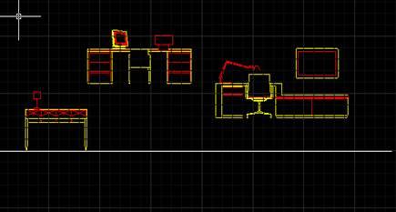 CAD对齐命令对齐图框的使用教程
