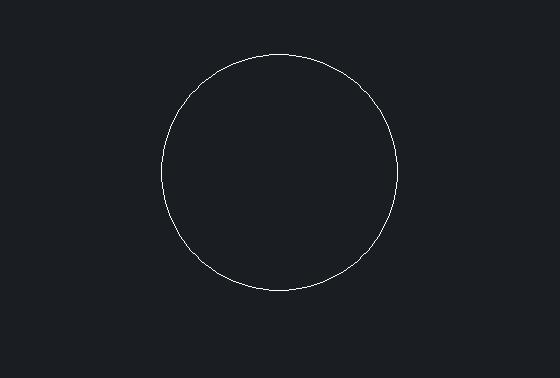 CAD等分圆时插入的点太小如何设置