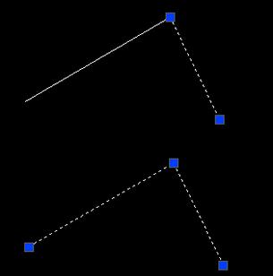 CAD断线的连接方法