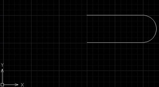 CAD圆角对象创建步骤方法