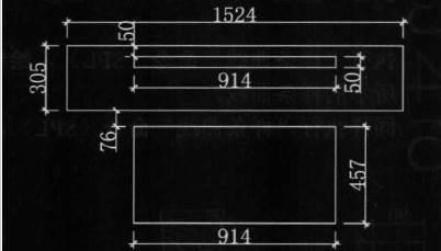 CAD绘制平面图的案例