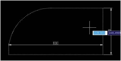 CAD绘制圆角之矩形
