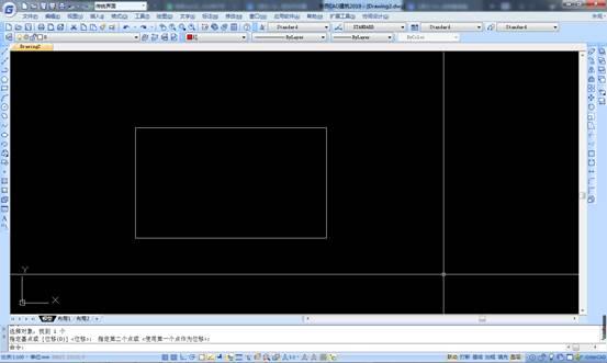 如何选择CAD重叠图形