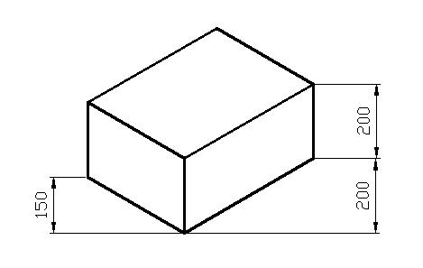 浩辰CAD中轴测图的尺寸标注方法