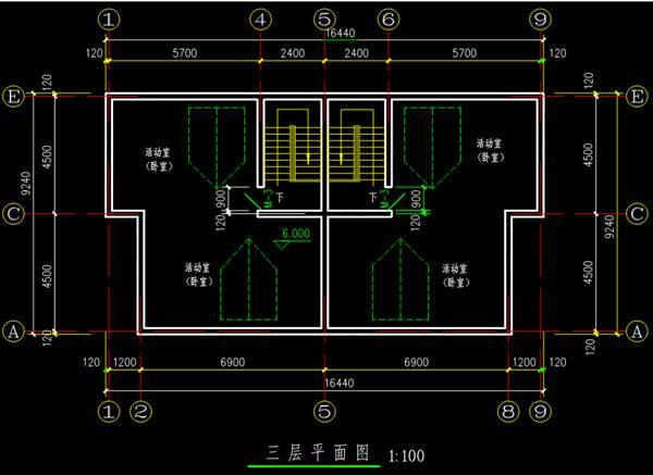 建筑CAD基础制图知识学习