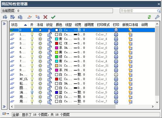 浩辰CAD创建机械制图样板文件