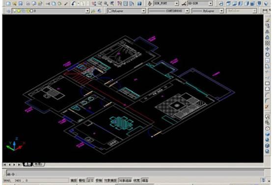 CAD如何画三维建筑图