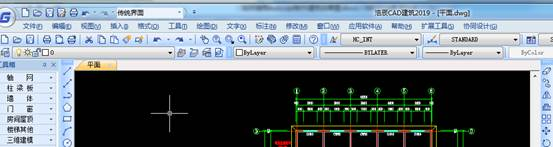 用CAD制作建筑效果图教程