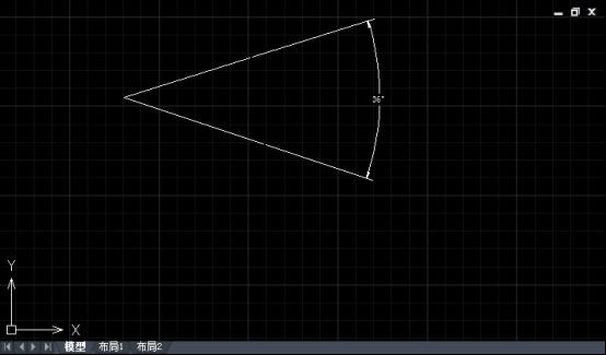 CAD绘制角平分线的步骤