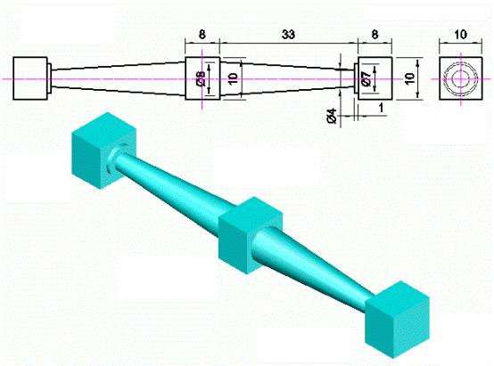 CAD建模命令教程实例
