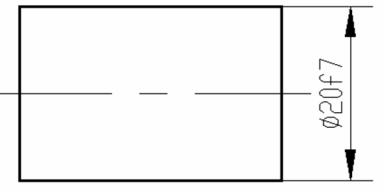 CAD对称公差的方式