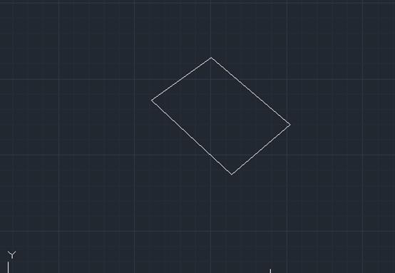 CAD倾斜图形变正的方式