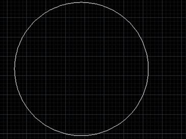 CAD圆弧转换为圆的方式