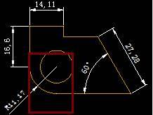 CAD圆弧标注延迟线的教程