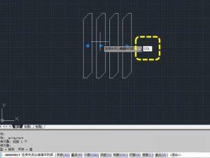 CAD复制教程之在CAD中如何快速多次复制并均匀排列